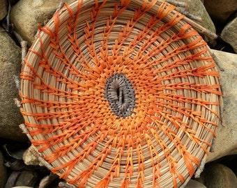 Pine Needle Basket- Native American Indian