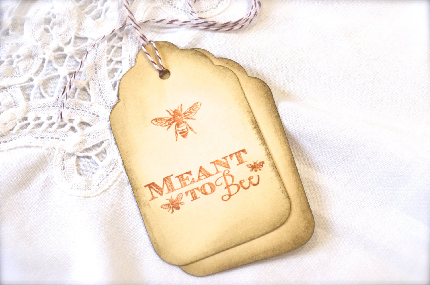 To Bee, Sepia Gift Tags, Honey Bee, Wine Charms, Wedding Favor Tags ...