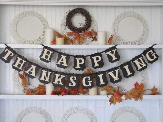 Happy thanksgiving banner thanksgiving sign give thanks Happy thanksgiving decorations