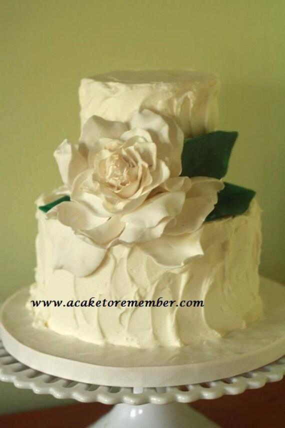 Gumpaste Gardenia for Cake Decorating edible by ...