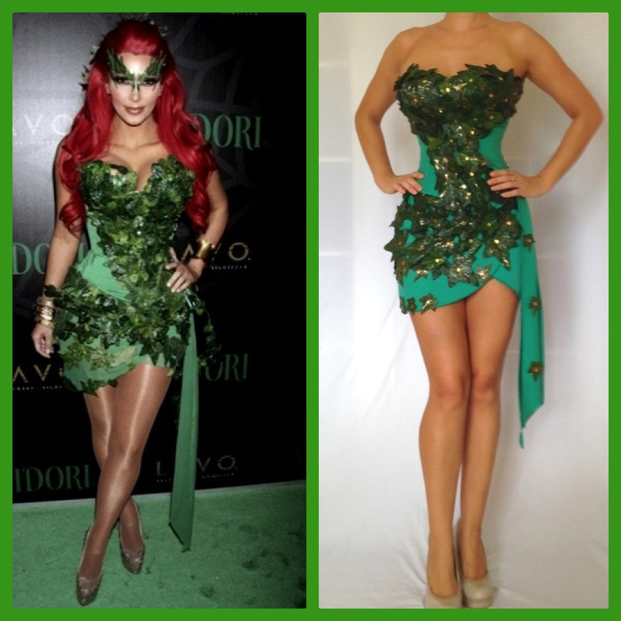 Sexy poison ivy costumes