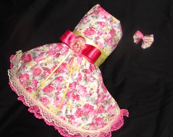 Roses Galore Party Dress  (Easter and Spring)