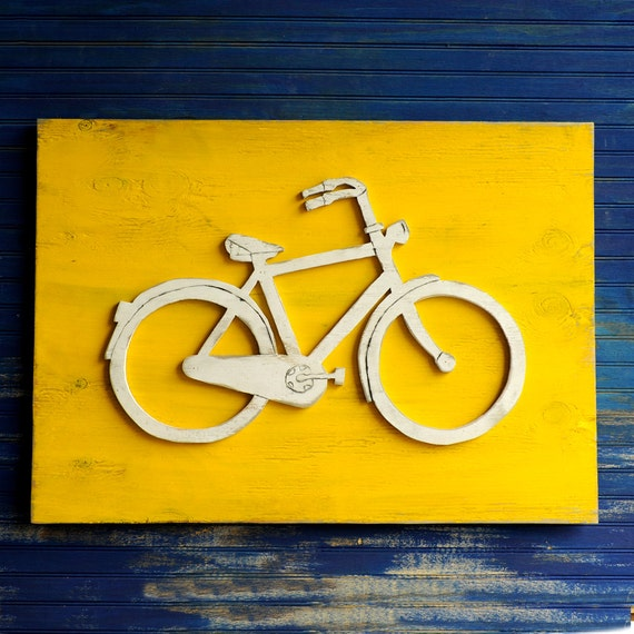 Bicycle Art Bicycle Wall Art Bike Wall Decor Bicycle Signs