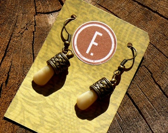 Trophy Earrings - a dark accessory for a natural born hunter