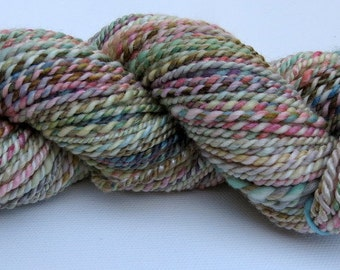 Superwash Merino/Bamboo Handspun Yarn - 85 yards