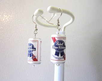 Beer Can Earrings