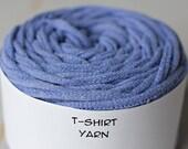 Tshirt fils de coton bleu pervenche, 37 mètres, wpi 7 342