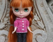 PATTERN - Coco Sweater for Blythe dolls INSTANT DOWNLOAD