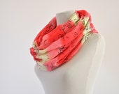 Cotton Scarf Womens Accessories Scarf Long Cotton Striped Gift for Her Gift under 30