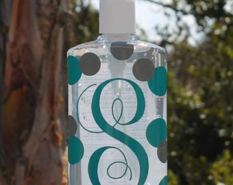 Custom/Personalized Hand Sanitizer - Great gift for new Bride Bridal Shower Home Decor