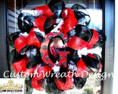 Deco Mesh Georgia Fan Wreath