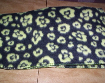 Green and Black Cheetah Pattern for Baby