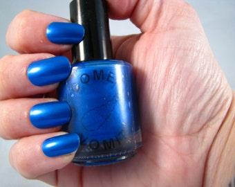 Comet Vomit: TARDIS is Love nail polish