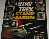 Official Star Trek Stamp Album 1977 with Many Stamps, Collection 1