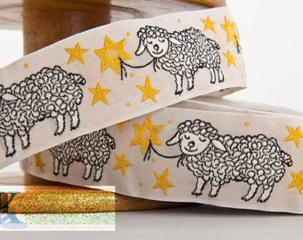 Little Sheep Ribbon - 1 meter, Item: 100318-05-100, Made in Germany