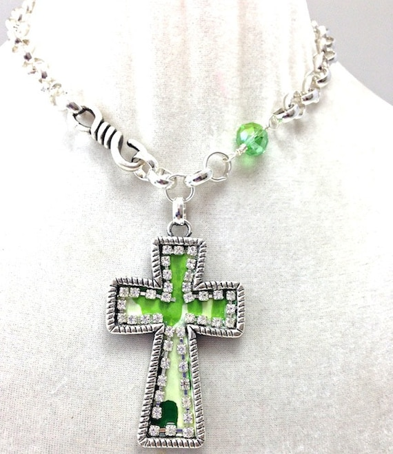 camouflage cross glamo camo necklace in 5 colors 18