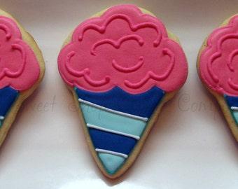 Cotton Candy Cookies 3 dozen