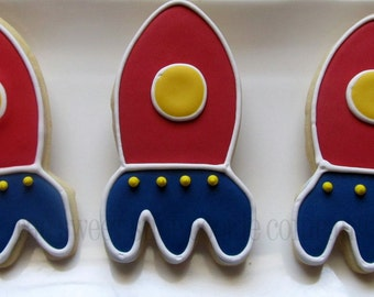 Rocket Cookies 2 dozen