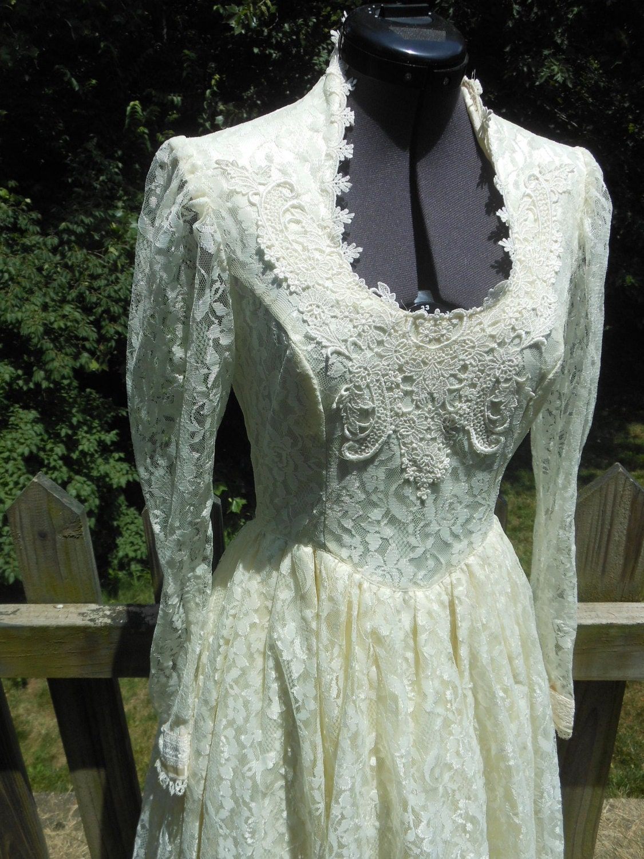 Gunne Sax Jessica McClintock Dress Romantic Bridal Renaissance