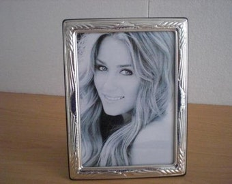 Handmade Sterling Silver Photo Picture Frame 1022 13x18 GB new