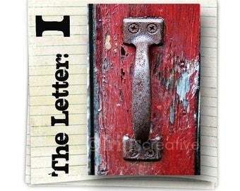 Letter I Alphabet Photography  COLOR 4x6 Photo Letter, print only, alphabet art
