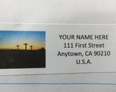 Easter Religious -- Theme Package Number One -- Return Address Label