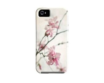 iPhone 6s case, Pink Floral iPhone case, Samsung Galaxy S5, samsung galaxy case, iPhone 6 case, pink, iPhone 6 plus, magnolia, pretty iPhone