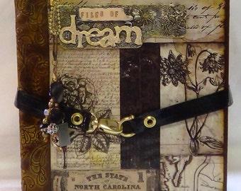 My File of Dreams Large Photo Album Tutorial
