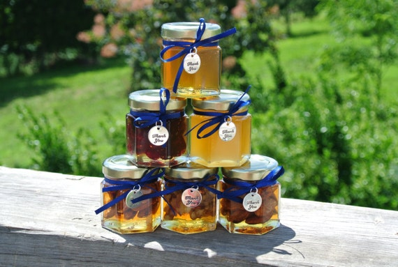 Gift For In Laws, Edible Gifts, Honey, Nuts & Fruit Jars