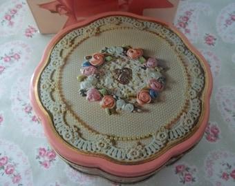Vintage Avon Valentine Collectible Tin