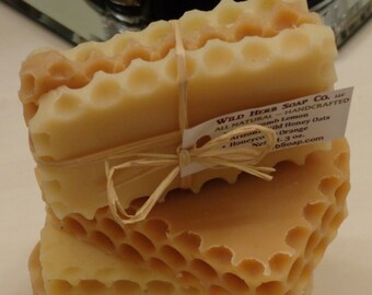 NATURAL SOAP FAVORS Honeycomb Trime! Choose Quantity (Weddings, Baby Shower, Bridal Shower, Receptions, Dinners)