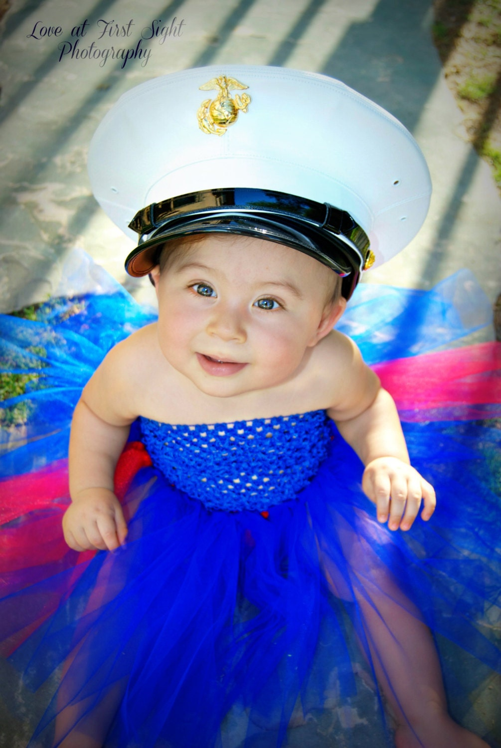 Dress Blues Tutu Dress
