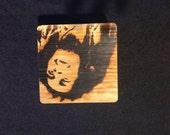 Bob Marley Keepsake Box, Pop Art Branded in Solid Oak