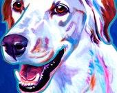 Llewellin Setter, Pet Portrait, DawgArt, Dog Art, Llewellin Setter Art, Original Painting, Colorful Dog Art, Llewellin Setter Painting, Art