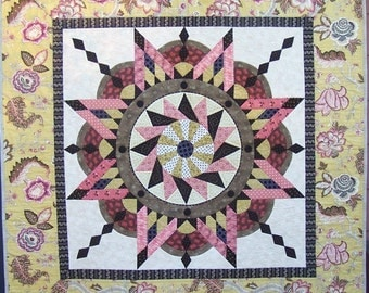 PDF pattern for Jacobean Star quilt