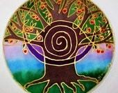 tree mandala art, spiritual gift,Tree of Abundance,mandala art, abundance art, tree of life , meditation art, spiritual art, metaphysical,