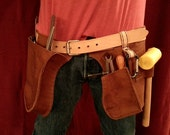 Oiled Leather Work Belt :...