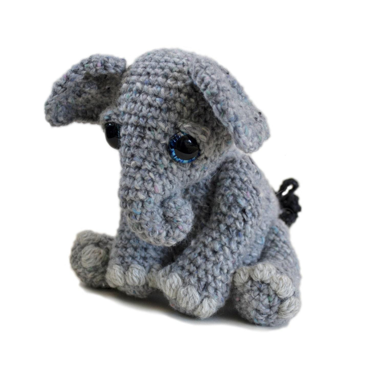 Crochet Doll Patterns On Etsy : Elephant Amigurumi Crochet Pattern PDF Instant by ...