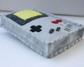 Nintendo Gameboy case for Nintendo 3DS XL and New 3DS XL, Old School, plus add your initials.