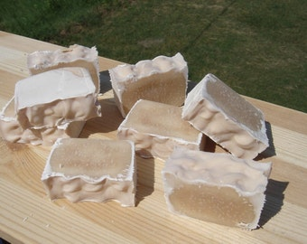 Coconut scented caffeine handmade soap carnivore friendly light scent geekery tallow soap