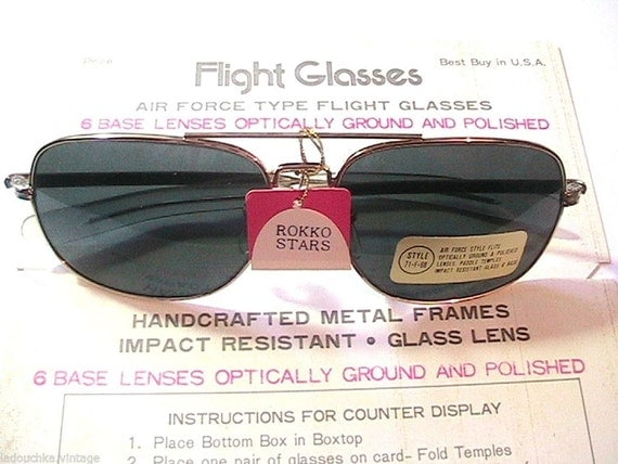 1970s Mens Sunglasses 1970s Men Air Force Flight