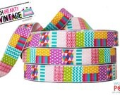 Woven Ribbon Trim I Love Patchwork 3 m