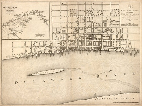 1776 Map Of Philadelphia