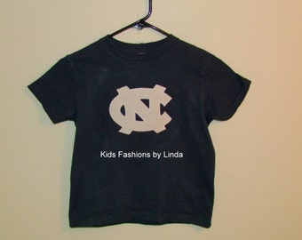 Navy Blue T-Shirt with UNC logo