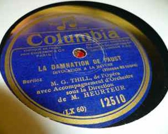 vintage recording 78-t