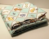 Sweet Baby Animals Baby Blanket, Large and  Doublesided