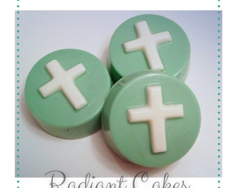 Baptism Cross Oreos