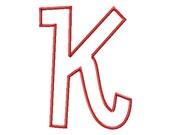 "SUPER JUMBO Manny APPLIQUE Font Set - Machine Embroidery Font - Sizes 8"", 9"" & 10"""