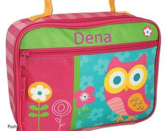 Personalized Lunch Box Bag Stephen Joseph Hoot Owl