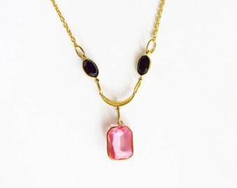 Legend of Zelda Inspired : Nabooru Inspired Lucite Charm Necklace